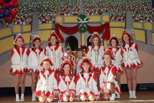 Die Prinzengarde Rot-Weiß (Archivfoto)